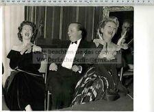 Stampa ORIGINALE FOTO: 1954 Moira Shearer-Frank Lawton & Evelyn Laye-A. Markova