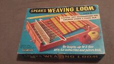 VINTAGE SPEAR'S GAME WEAVING LOOM SIZE 2 INSTRUCTIONS PATTERN BOOK