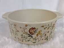 Lenox Temperware MERRIMENT Round Open Casserole SERVING BOWL Made in USA MINT