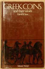 Sear, David R. Greek coins and their values. Volume 1: Europe 1978