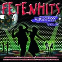 FETENHITS DISCOFOX-DIE DEUTSCHE VOL.3  2 CD NEU
