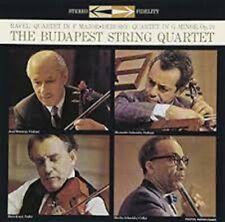 LP The Budapest String Quartet Ravel Debussy