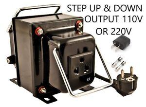 Simran THG-1000 Step Up Down Voltage Transformer Converter 110V 220V/240V 1000W