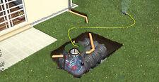Regenwassertank Flachtank Erdtank Graf Platin 1500 L Paket Garten-Komfort