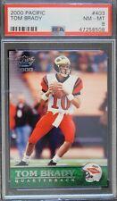 Tom Brady New England Patriots 2000 Pacific Rookie Card #403 PSA 8 NM-MT