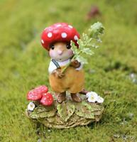 Wee Forest Folk M-687 - Rusty Red Cap