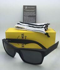 8013adef7b New VONZIPPER Sunglasses VZ FULTON Matte Black Satin Frames with Grey Lenses