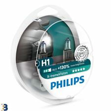 2x H1 Philips X-treme Vision 55W Upgrade Car Headlamp Bulb 12258XV+S2
