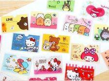 2 CASES lot Kawai credit bus pass card case holder (Totoro, rilakkuma, HK, etc.)