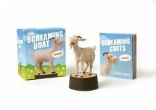 The Screaming Goat -  Book and Figure Paperback 2016 FREE SHIPPING!
