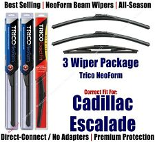 3pk Wipers Front & Rear - NeoForm - fit 2009-2014 Cadillac Escalade  16220x2/12E