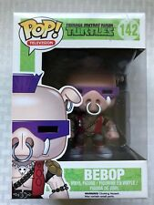 Funko POP! Teenage Mutant Ninja Turtles TMNT Bebop #142 In Box Rare Find!