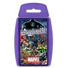 Top Trumps - Marvel Universe Who's Your Hero?
