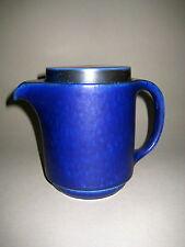 Kanne Kaffeekanne  60s Keramik Langenthal Schweiz Ocean Blue    Nr.3