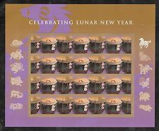 2014 #4846 Chinese Lunar New Year Horse Pane of 12 Mint NH