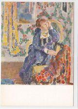 CP ART TABLEAU RIK WOUTERS La dame au collier jaune