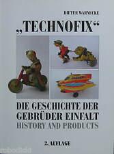 TECHNOFIX GREAT BOOK ABOUT THE GERMAN TINTOY COMPANY EINFALT NUREMBERG