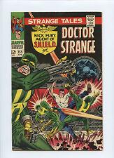 Strange Tales (1966) 155 Dr. Strange Nick Fury Agent Of Shield Jim Steranko