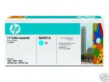 TONER HP CYAN Q6001A NEUF + 50% REMBOURSE / Q6001 Q600