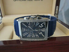 Men's OFFICINA DEL TEMPO Watch Italian Design Natural Diamond Stainless Steel