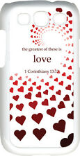 Valentine's Graduating Red Hearts Greatest Love Samsung Galaxy S3 Case Cover