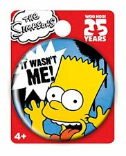 *NEW* The Simpsons: Bart Simpson Button by Monogram