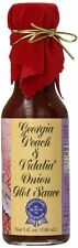 Georgia Peach and Vidalia Onion Hot Sauce with Red Velvet Top
