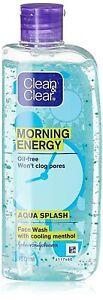 CLEAN & CLEAR Morgen Energie Aqua Splash, Blau, 100 ML
