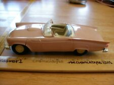 """AMT 1957 Ford Thunderbird dealers promo metal chassis friction 7"""" car vintage"""