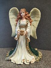 Hamilton Collection-May Love and Friendship Reign-Emerald Isle Angel No. 4983-C