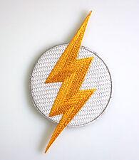 Flash Logo Blitz - DC Superheld - Patch Uniform Aufnäher - zum Aufbügeln - neu