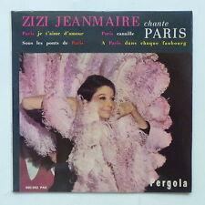 zizi JEANMAIRE Chante Paris Paris je t aime d amour ..