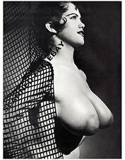 Rosina Revelle sexy busty topless print picture female girl nude model photo Y