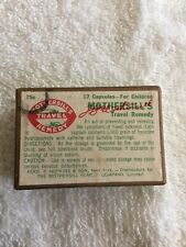 VINTAGE MOTHERSILL'S TRAVEL REMEDY For Adults