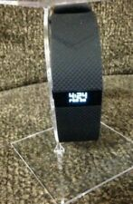 Fitbit Charge HR Large Black fitness tracker Lg fb405BKL tracker only no acesory