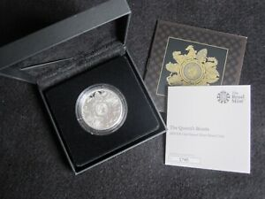 2021 Royal Mint Queens Beasts Completer £2 Silver Proof Coin Boxed COA No 1745