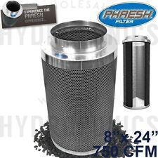 """Phresh Filter 8"""" x 24"""" 750 CFM Carbon Filter - **Authorized Phresh Seller!**"""