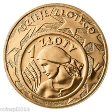 2 zl. 2004 History of the Polish Zloty (1 zloty z 1924 roku)
