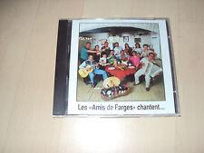 """CD """" LES AMIS DE FARGES"""" chantent..."""