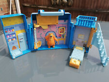 RARE Vintage Bear in The Big Blue House Play set Toy 1990