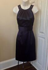 40ea68f0551 Antonio Melani Sleeveless Plum Purple Cocktail Evening Dress ~ Women s 0  EUC!