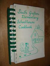 South Grafton, MA Elementary School house Cookbook by parent teacher group1988