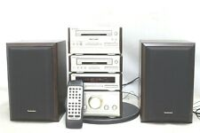 Technics HD50 Mini Hi-Fi Stereo System  Amp Tape Tuner and CD Player - Untested.