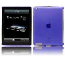 Azul suave Gel funda rígida Inteligente Compatible Con Cubierta Inteligente Para Apple iPad 2/3