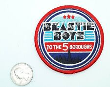 "Beastie Boys To The Five Boroughs Sew-On Iron-On Embroidered Patch 3"" X 3"""