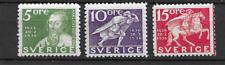 1936 MNH Sweden Michel 227-9B postfris**
