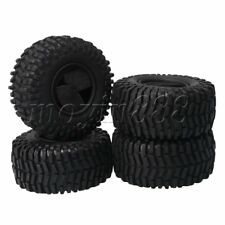 """4x RC1:10 125mm Arrow Pattern Rubber Tires for Rock Crawler 2.2"""" Wheels"""