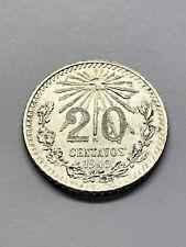 1940 Mexico 20 Centavos Unc+ #1699
