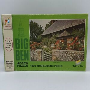 MILTON BRADLEY Vintage Sussex England 1973 Puzzle Never Opened