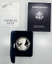 1998 P Philadelphia Proof  American Silver Eagle 1 oz 999 Box/COA B4